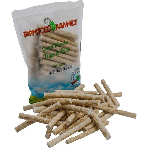 Farm Food Rawhide Dental Munchie - 35Stk